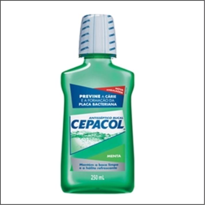 ANTISEPTICO BUCAL  CEPACOL 250ML MENTA