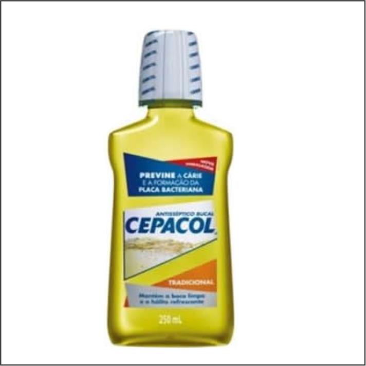 ANTISEPTICO BUCAL CEPACOL 250ML TRADICIONAL