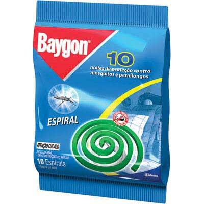 INSETICIDA BAYGON ESPIRAL 10 UNIDADES