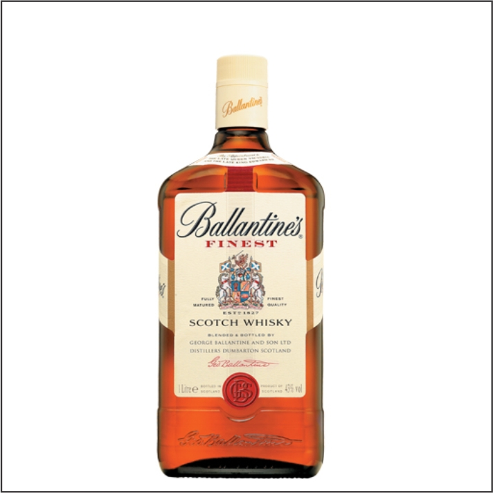 WHISKY BALLANTINES FINEST 1L 8ANOS