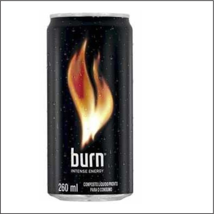 ENERGETICO BURN LATA 260ML