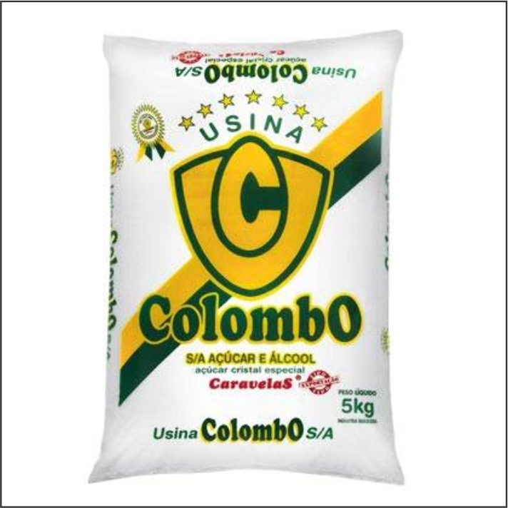 ACUCAR CRISTAL COLOMBO 5KG