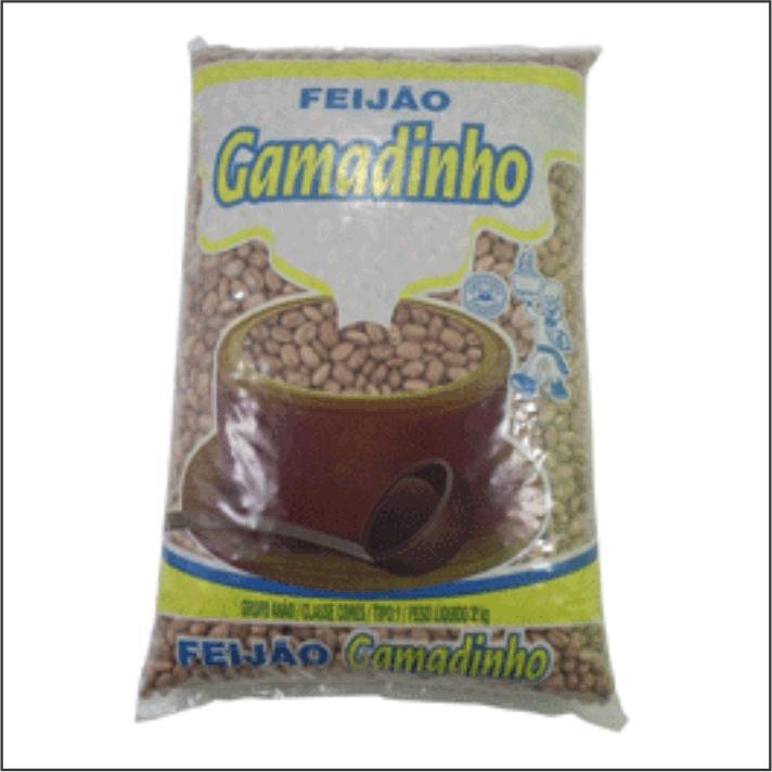FEIJAO CARIOCA GAMADINHO 1KG