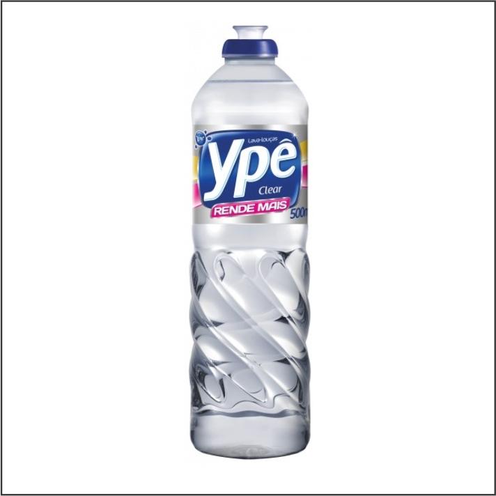 DETERGENTE LIQ YPE 500ML CLEAR