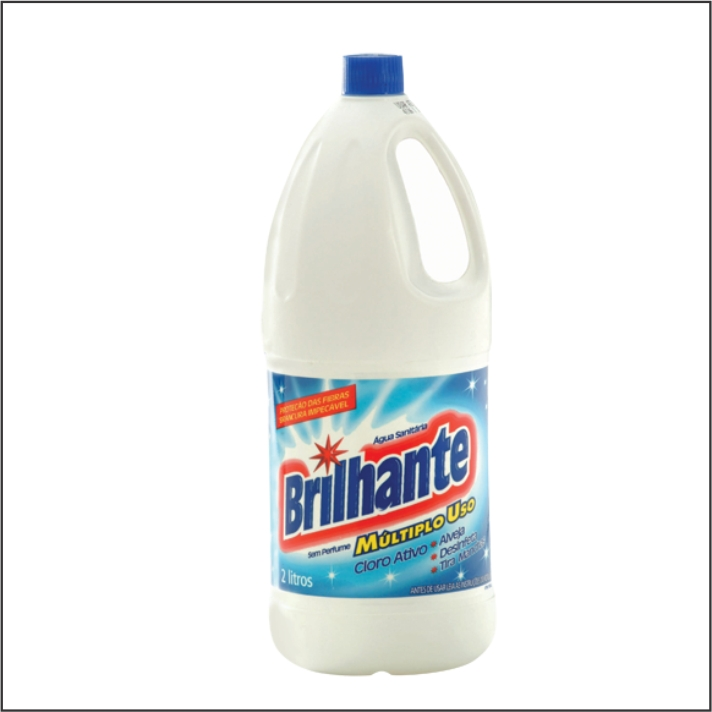 agua sanitaria brilhante 2l
