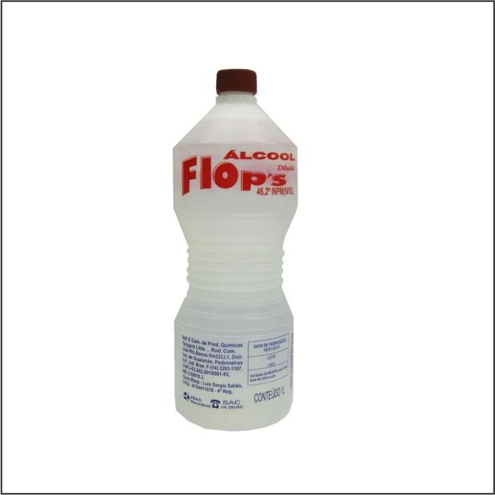 ALCOOL FLOPS 46IN 1L