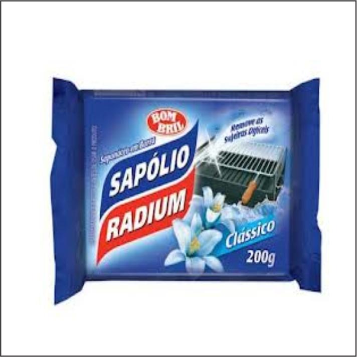 SAPOLIO RADIUM PEDRA 200G CLASSICO