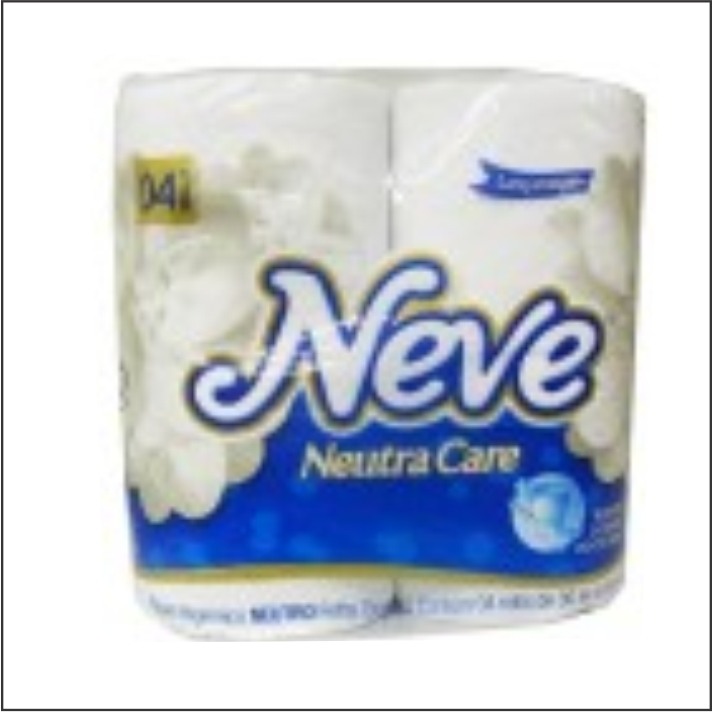 PAPEL HIG NEVE FD COM 4 NATURAL CARE