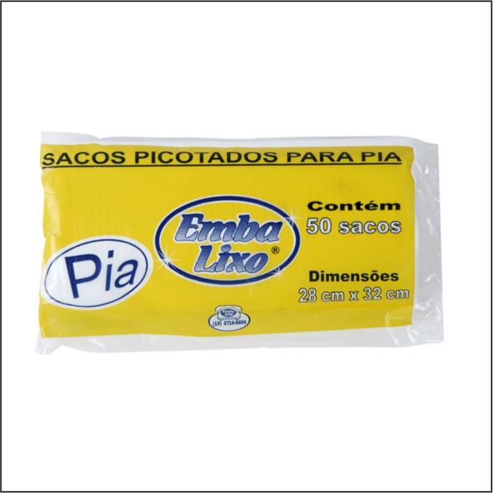 SACO PARA LIXO EMBALIXO SUSTENTAVEL PIA COM 50