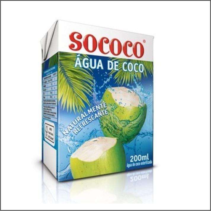 AGUA COCO SOCOCO TP 200ML
