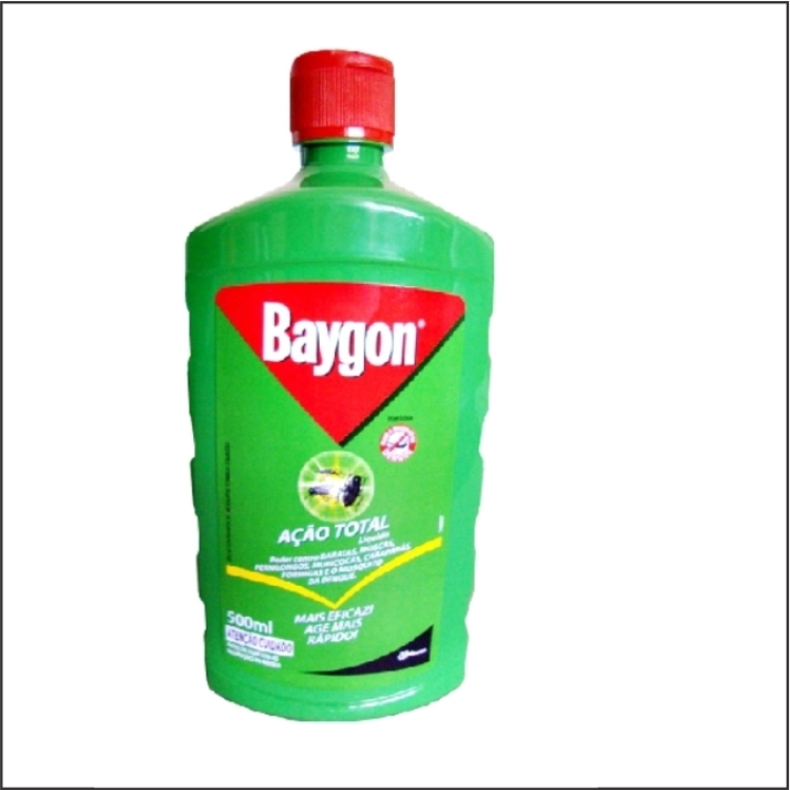 INSETICIDA BAYGON ACAO TOTAL 500ML