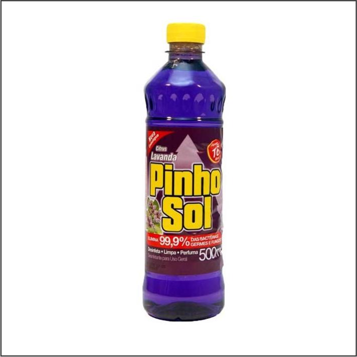 DESINF PINHO SOL 500ML LAVANDA