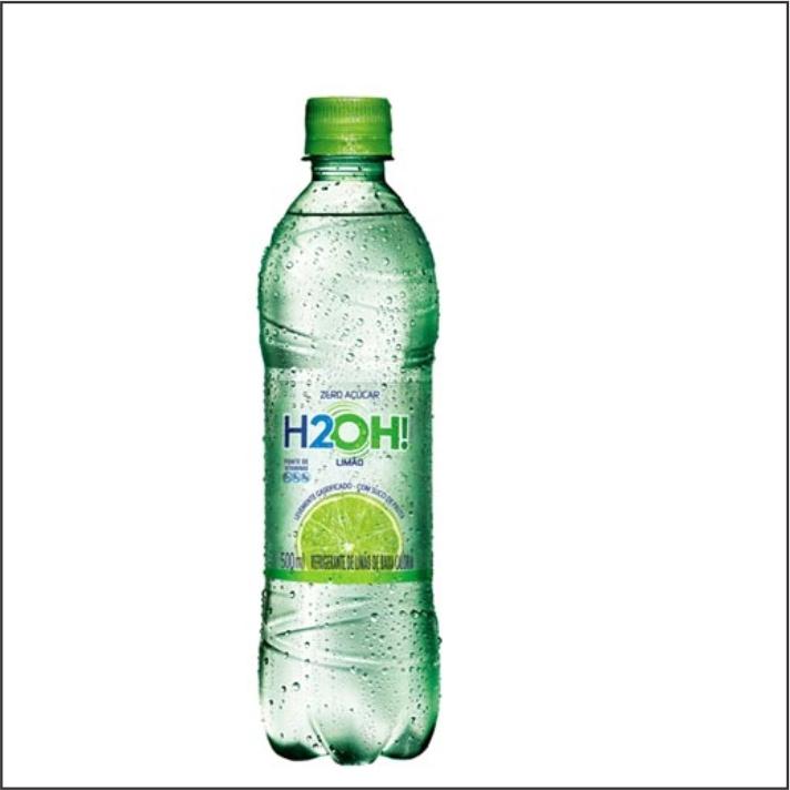 REFRIGERANTE H2OH PET 500ML LIMAO
